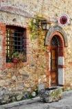 Tuscan κατάστημα κρασιού, Ιταλία Στοκ Εικόνες