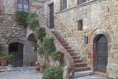 Tuscan κατοικημένο idyll στοκ εικόνες