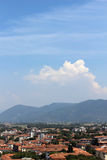 Tuscan ουρανός Στοκ εικόνες με δικαίωμα ελεύθερης χρήσης