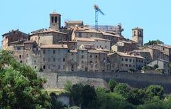 Tuscan πόλη Anghiari Στοκ φωτογραφία με δικαίωμα ελεύθερης χρήσης