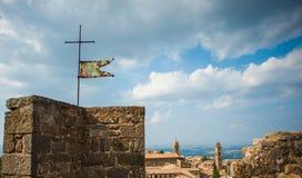 Tuscan σταυρός Στοκ Εικόνα