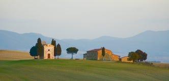 Tuscan τοπίο Στοκ φωτογραφία με δικαίωμα ελεύθερης χρήσης