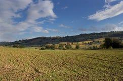 Tuscan χώρα Στοκ Φωτογραφίες