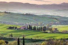 сельская местность tuscan Стоковое Изображение RF