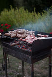 A Tuscan Barbecue Stock Photo