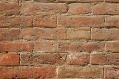 Tuscan brick wall. Ancient old Tuscan brick wall in Tuscany Royalty Free Stock Photography