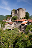 Tuscan castle Stock Photography