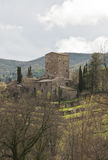 Tuscan castle Royalty Free Stock Images
