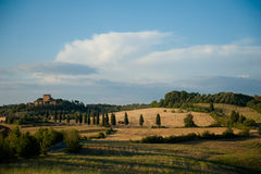 A Tuscan Castle Stock Image