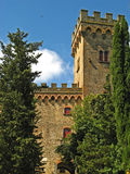 Tuscan Castle 03 stock photos