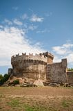 Tuscan castle populonia Royalty Free Stock Photos