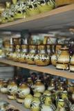 Tuscan Ceramiche (krukmakerier) Arkivfoto