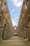 Tuscan Church Ruins Stock Image