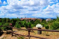 Tuscan City Stock Photography