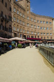 Tuscan city of Siena Palio Stock Image