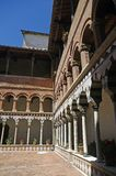 Tuscan,cloister. A nice view of a cloister Stock Image