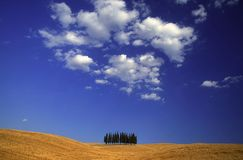 Tuscan countryside Royalty Free Stock Images