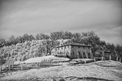 Tuscan Countryside by Infrared Stock Images