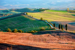 Tuscan Countryside, Italian landscape Royalty Free Stock Photography