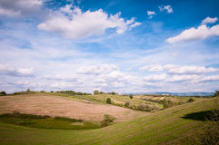 Tuscan countryside landscape Royalty Free Stock Photos