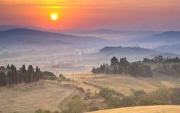 Tuscan Countryside Scenery