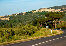 Tuscan Countryside. Spring Colors in the Tuscan Countryside, Italy Stock Photography