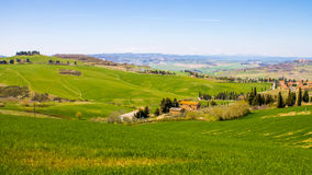 Tuscan coutryside, Italy Stock Images