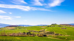 Tuscan coutryside, Italy Royalty Free Stock Photo