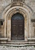 Tuscan Door. A door found in Montepulciano, Italy Stock Images