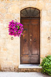 Tuscan door Royalty Free Stock Images