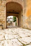 Tuscan doorway Stock Photos