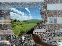 Tuscan dröm Fotografering för Bildbyråer