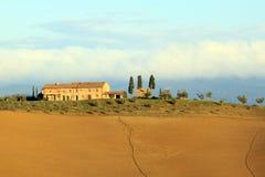 Tuscan farm Royalty Free Stock Image