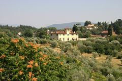 Tuscan Farmhouse. Typical tuscan Farmhouse royalty free stock photography