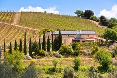 Tuscan farmhouse Royalty Free Stock Photo