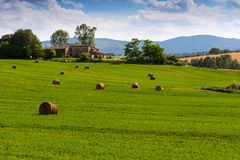 Tuscan farmhouse, Italy Royalty Free Stock Photo