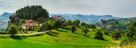 Tuscan farmhouse in Italy Royalty Free Stock Photography