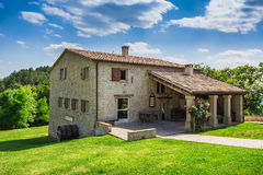 Tuscan farmhouse in Italy Stock Photography