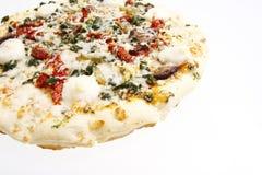 Tuscan Garden Pizza. Royalty Free Stock Photos