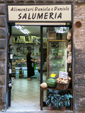Tuscan grocery store in Siena, Tuscany, Italy Stock Photography