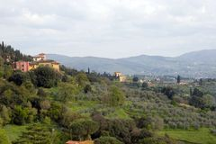 Tuscan Hills Royalty Free Stock Photos