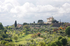 The Tuscan Hills, Italy, Europe Stock Photography