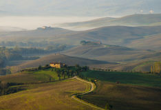 Tuscan hills Stock Image