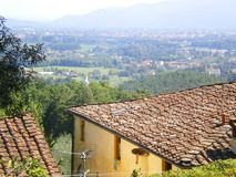 Tuscan home Lucca Tuscany Italy royalty free stock photo