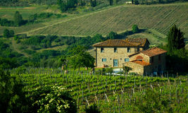 Tuscan House, Italy Royalty Free Stock Images