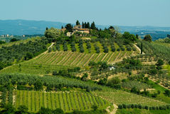 Tuscan House, Italy Royalty Free Stock Photography