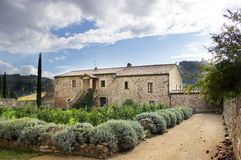 Tuscan house Stock Photography