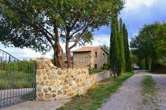 Tuscan house Stock Photography
