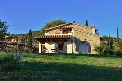 Tuscan hus royaltyfria foton