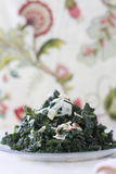 Tuscan Kale Salad Stock Photography